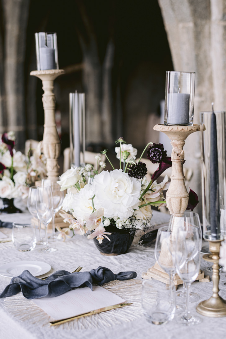 Detail of boho chic decors