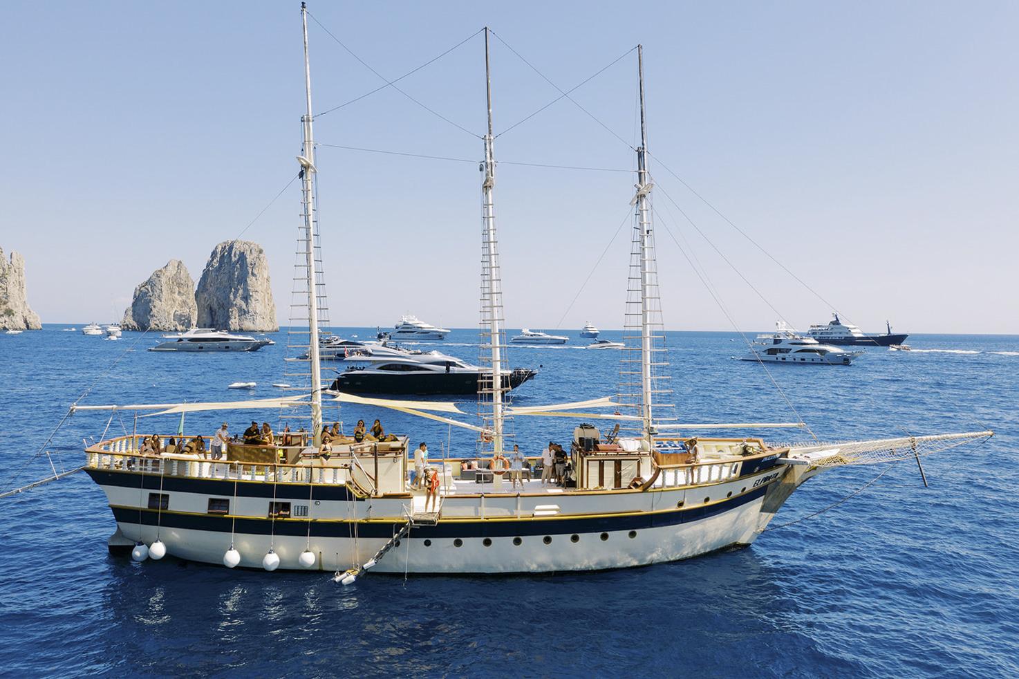 Boat tour in Capri & Amalfi Coast