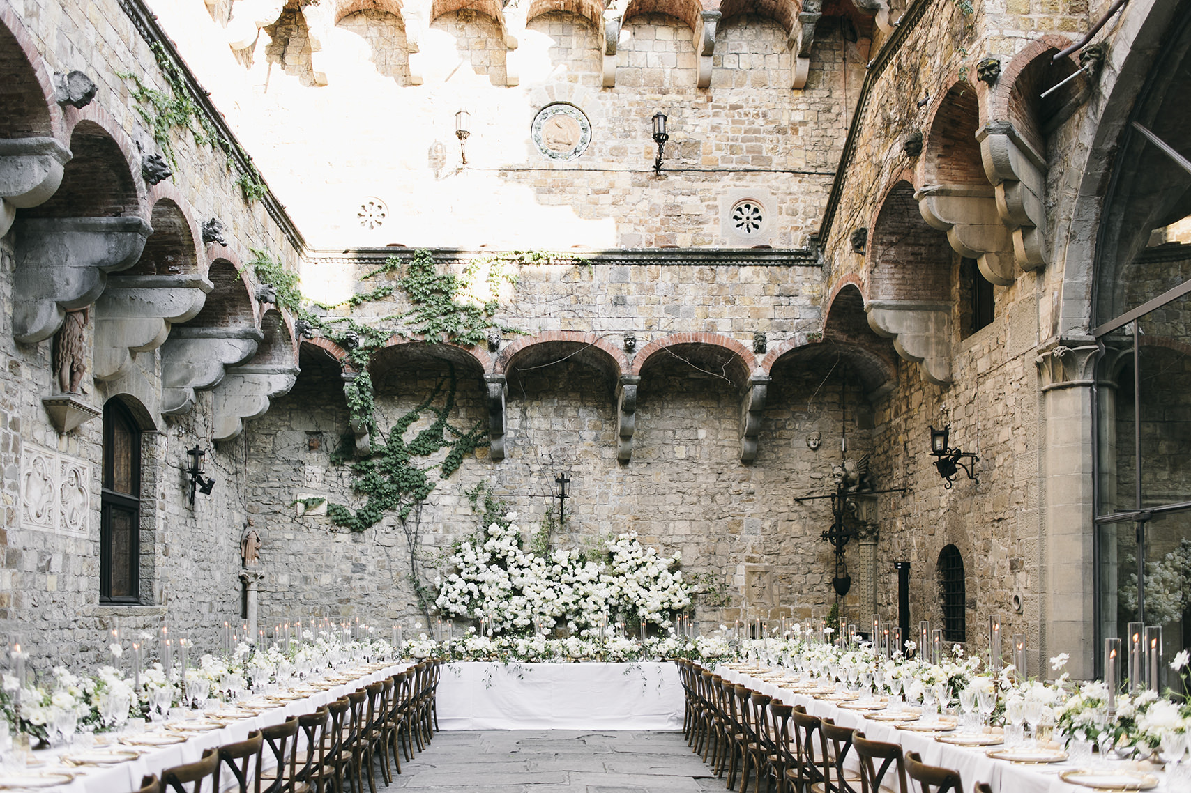 Castle wedding in Florence