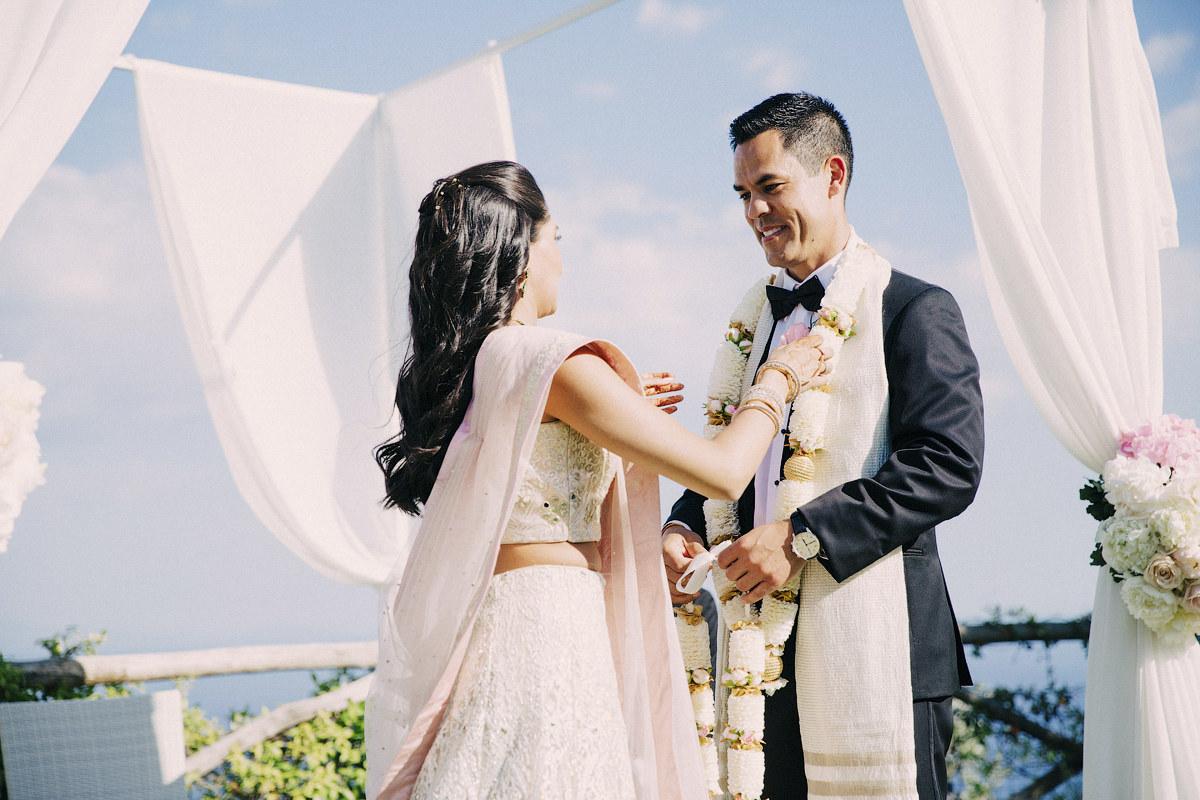 Hindu wedding ceremony in Italy