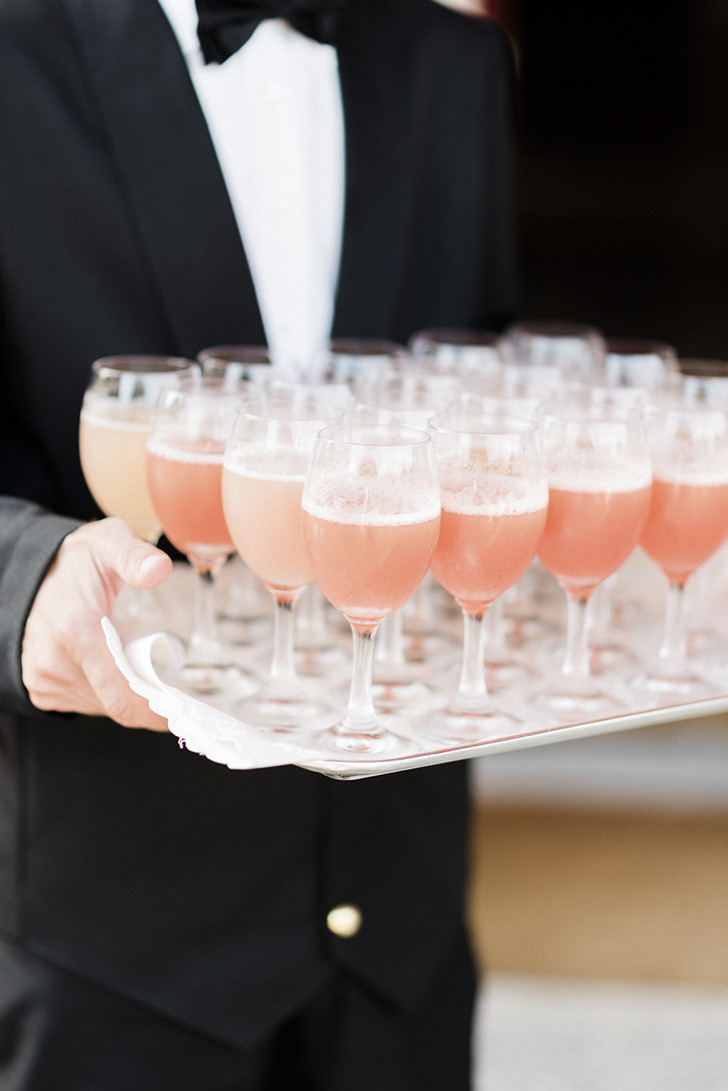 Italian cocktail Bellini