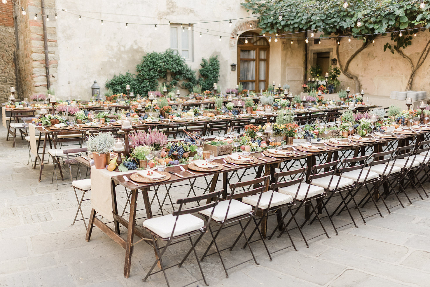 Welcome dinner in Tuscany