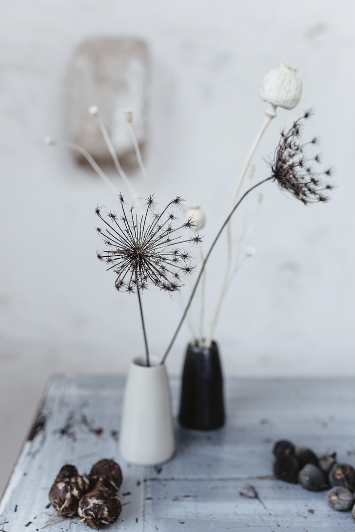 Detail of minimalist decor
