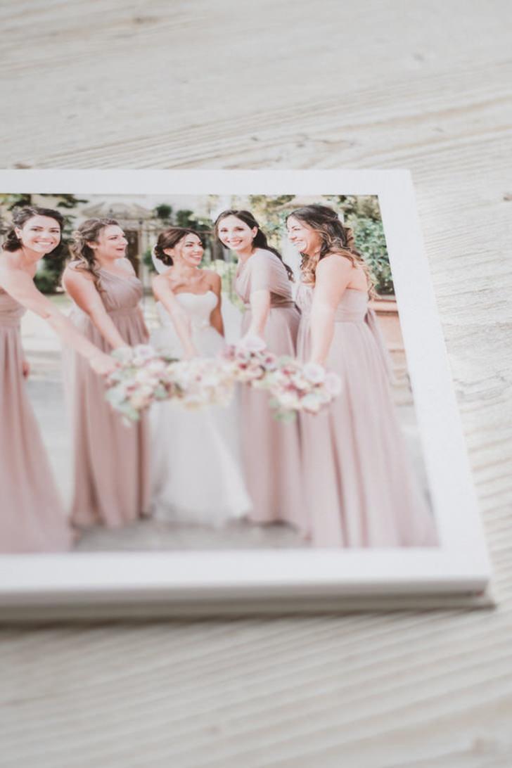 Custom prints of Italian wedding photos