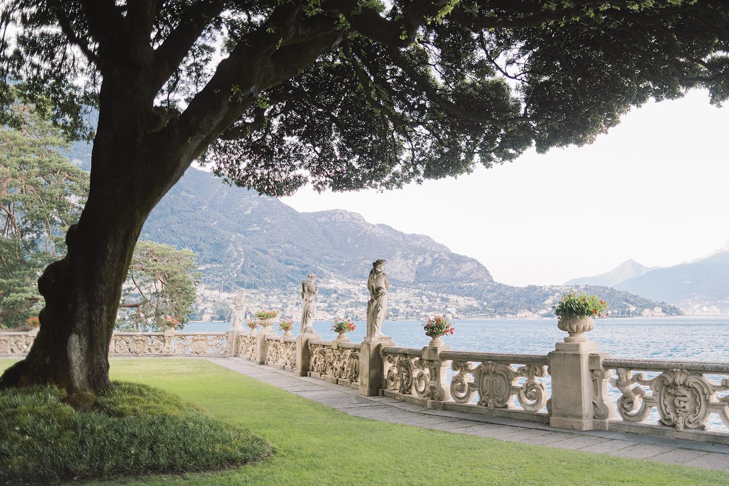 Panorama of Lake Como
