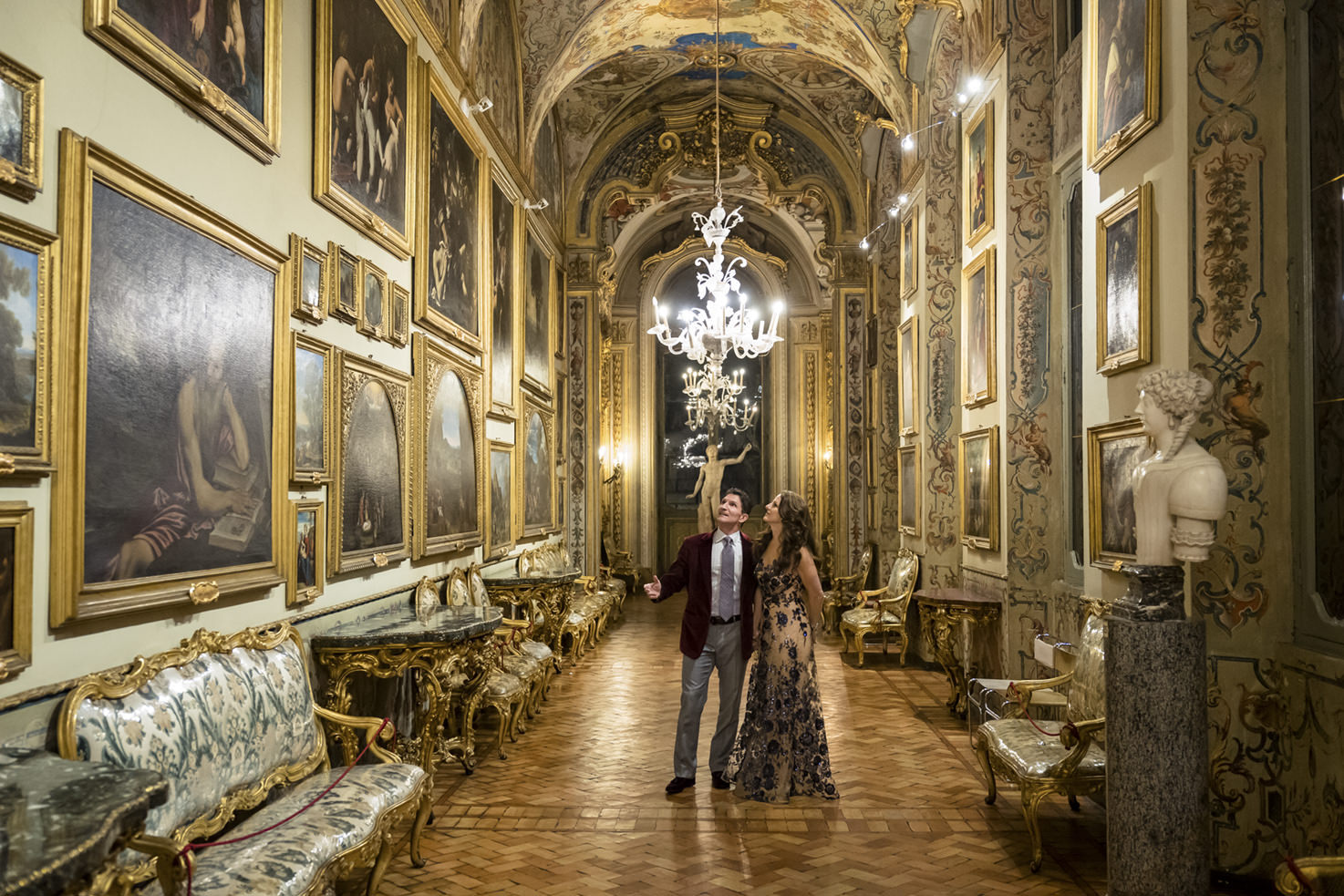 Wedding at Palazzo Borghese in Rome