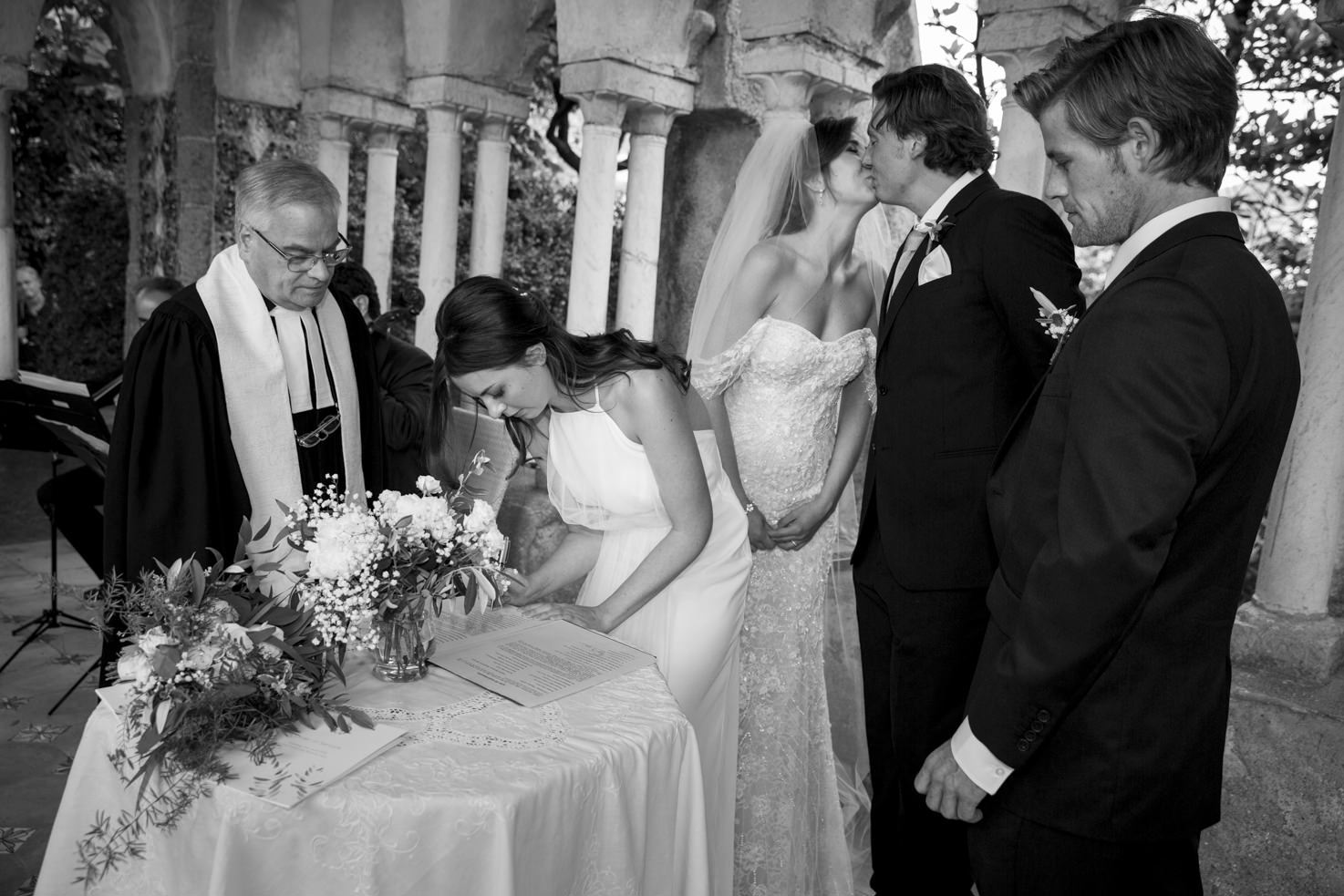 Protestant wedding in Italy