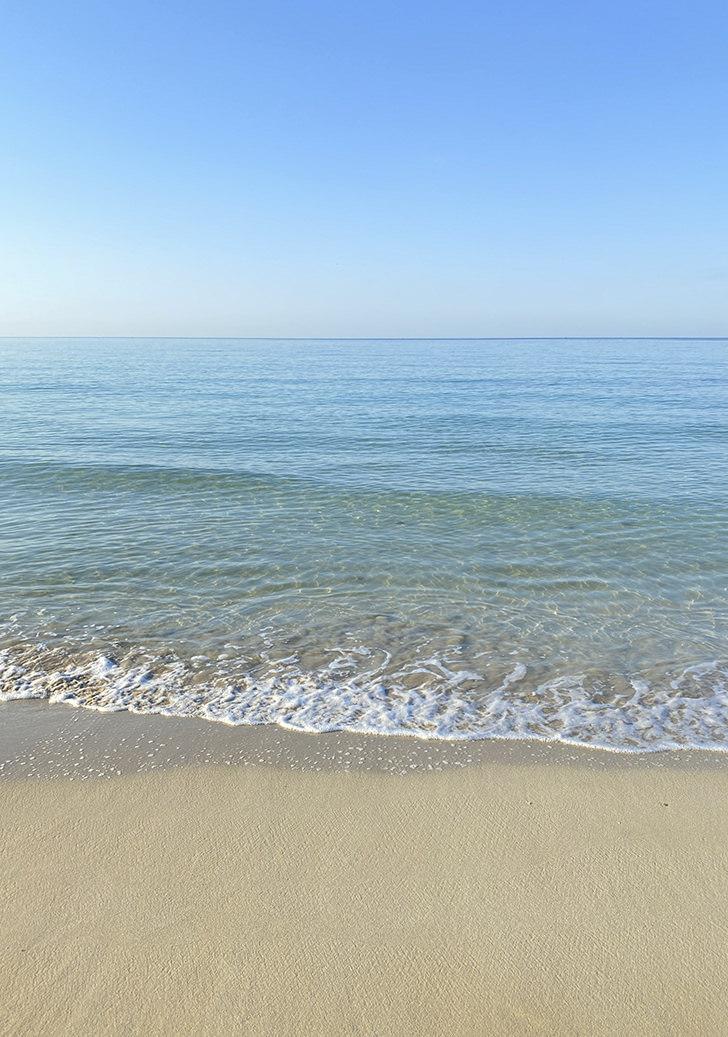 Mediterranean sea in Puglia