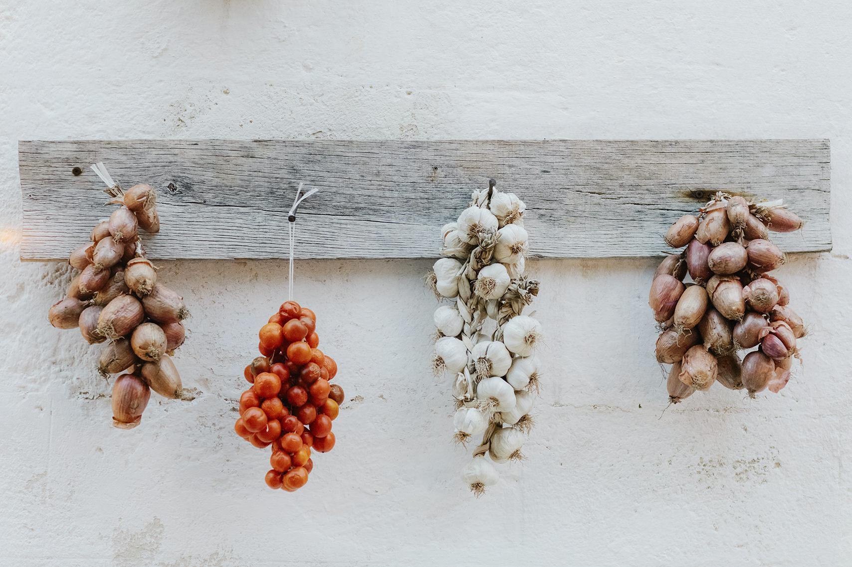 Fresh produce from Puglia