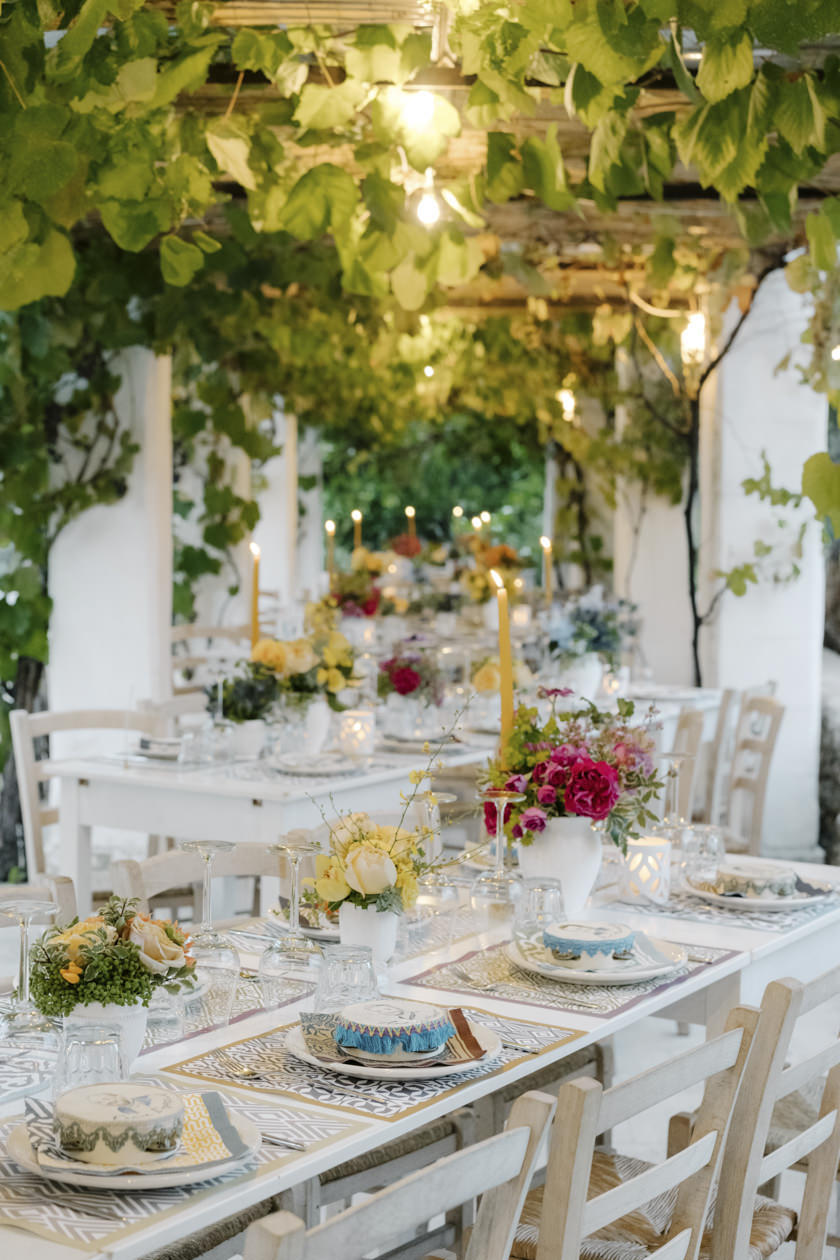 Welcome dinner in a Masseria