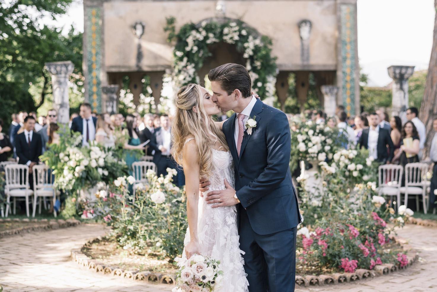 Symbolic wedding in Italy