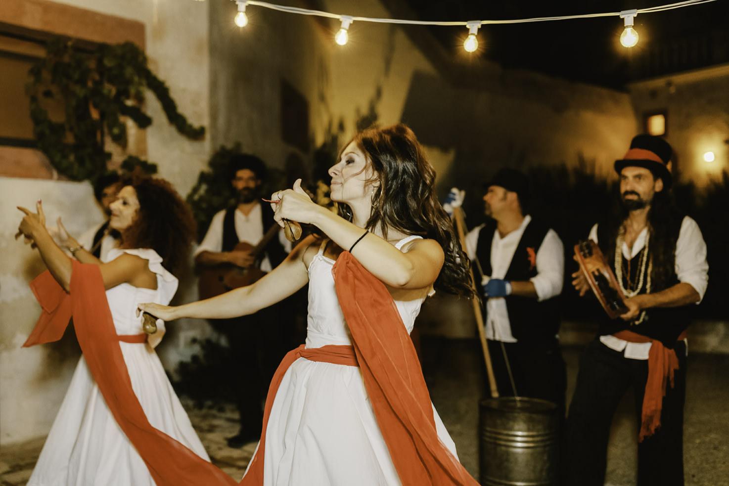 Pizzica dancers of Puglia
