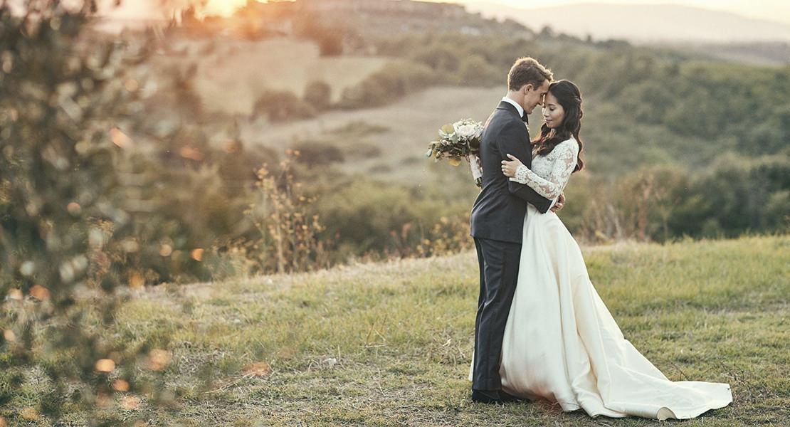 Wedding in Monteriggioni, Tuscany