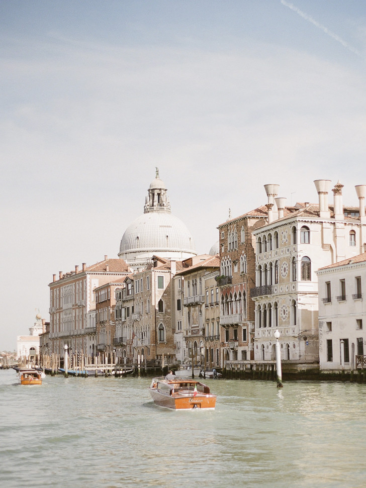 Panorama of the Grand Canal in Venice