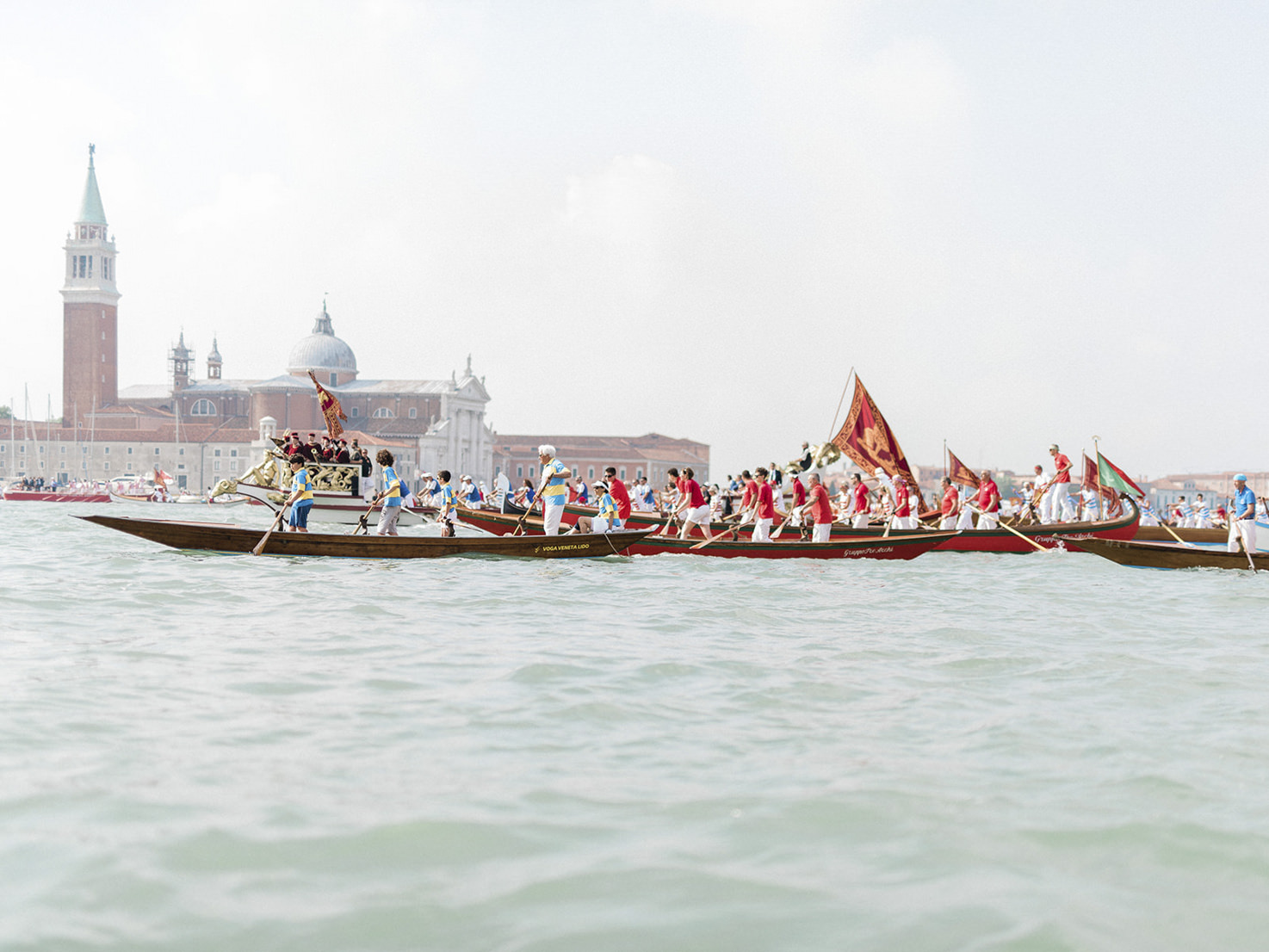 Historical boats in Venice