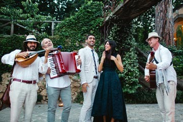 Wedding music for weddings in Italy