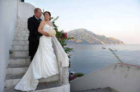 <p>Caireen and Martyn, wedding in Amalfi</p>