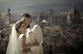 <p>Nareg and Alice, Castle Wedding in Florence</p>