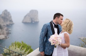<p>Timothy and Chloe, Wedding in Capri</p>