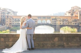 <p>Aaron and Brittany, wedding in Florence</p>