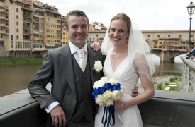 <p>Jennifer and Nicholas, castle wedding in Florence</p>