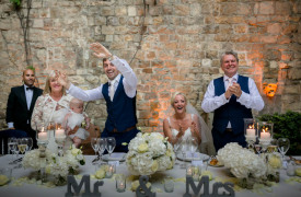 <p>Siobhan and Jack, Catholic Wedding in Florence</p>