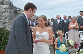 <p>Carol and James, civil wedding in Portovenere</p>