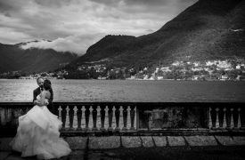 <p>Mido and Diana, Symbolic Wedding on Lake Como</p>