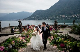 <p>Stephanie and John, luxury wedding on Lake Como</p>