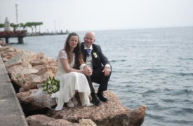 <p>Angela and Ian, Lake Garda wedding</p>