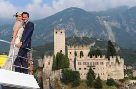 <p>Eve and Rob, Wedding in Malcesine</p>