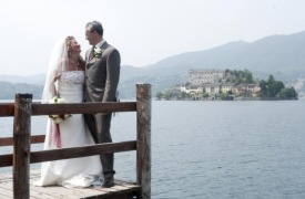 <p>Caline and Des, Lake Orta wedding</p>