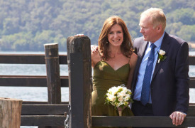 <p>Michael and Gemma, wedding on Lake Orta</p>