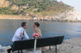 <p>Ciara and Damien, wedding in Portovenere</p>