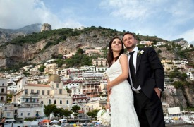 <p>Adam and Melanie, wedding in Positano</p>