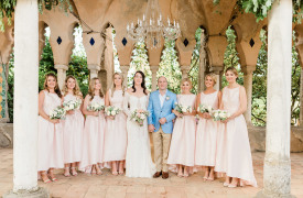 <p>Cate and Ramiz, symbolic wedding in Ravello</p>