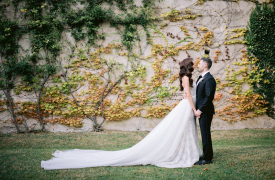<p>John and Megan, catholic wedding in Ravello</p>