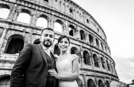 <p>Adriana and Hector, catholic wedding in Rome</p>