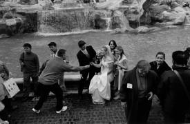 <p>Breanne and Martin, symbolic wedding in Rome</p>