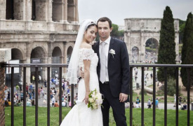 <p>Rali and Jakub, civil wedding in Rome</p>
