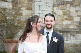 <p>Kristopher and Kristen, wedding in Gaiole in Chianti</p>