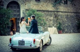<p>Erik and Stephanie, Castle Wedding in Chianti</p>
