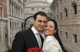 <p>Belen and Juan Manuel, Venice civil wedding</p>