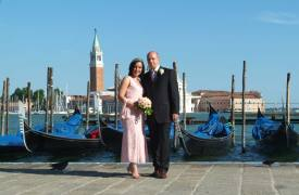 <p>Emma and Tony, civil wedding in Venice</p>