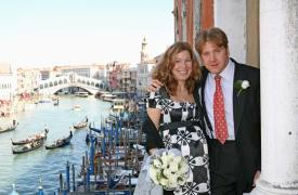 <p>Julie &amp; David, civil wedding in Venice</p>
