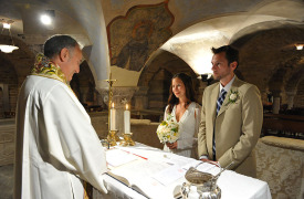 <p>Keto and Chris, catholic wedding in Venice</p>