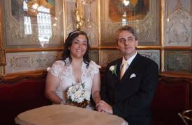 <p>Lia and John, civil wedding in Venice</p>