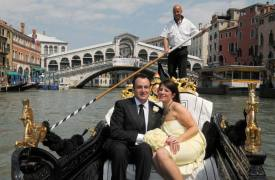 <p>Marianne and David, Venice civil wedding</p>