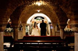 <p>Andrew and Marsha, catholic wedding in Venice</p>