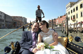 <p>Michelle and Shane, wedding in Venice</p>